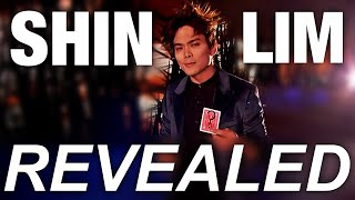 Shin Lim: AGT Finals Card Magic Trick REVEALED