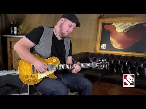 Gibson Les Paul 59 Ace Frehley Aged and Signed #45 (2015)