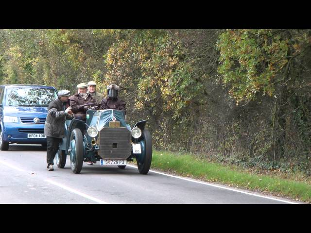 London Brighton Veteran Car Run 2011 Hammer Hill Part 4