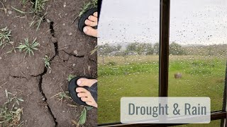 A Bit of Drought Relief, We Got Some RAIN! - Life in a Tiny House called Fy Nyth
