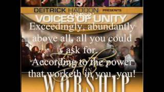 Download He's Able by Darwin Hobbs with Deitrick Haddon and the Voices of Unity MP3 song and Music Video