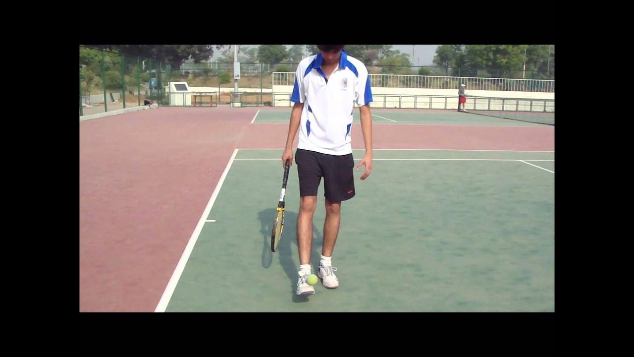 Tennis Ball pick up tricks - YouTube