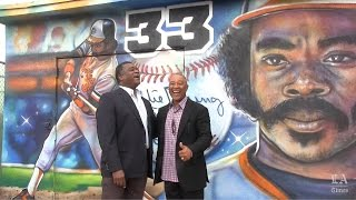 Locke High honors Eddie Murray and Ozzie Smith