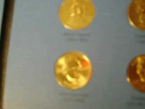 Presidential Dollar Coin collection: Book one