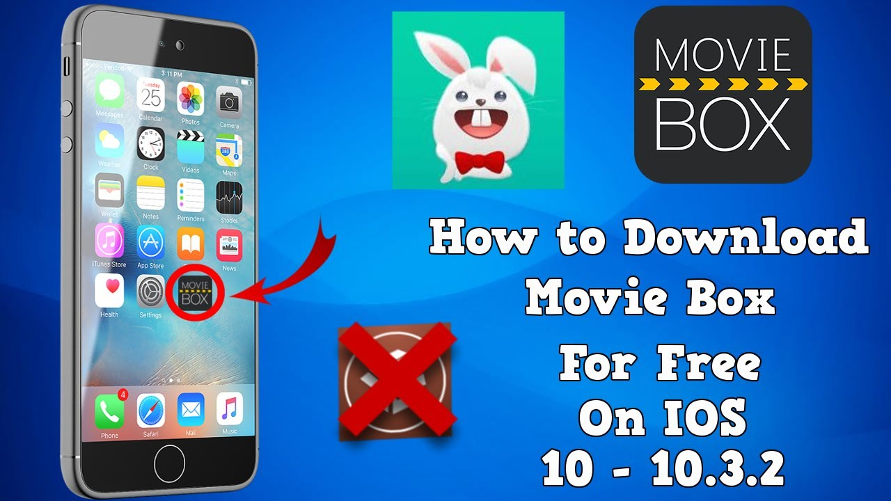 How To Download Moviebox Hd For Free On Ios 10 1033 Youtube