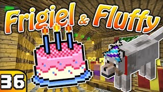FRIGIEL & FLUFFY : L'ANNIVERSAIRE DE FLUFFY ! | Minecraft - S4 Ep.36 thumbnail