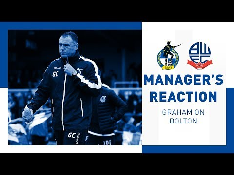 Match Reaction - Graham Coughlan - Bolton Wanderers