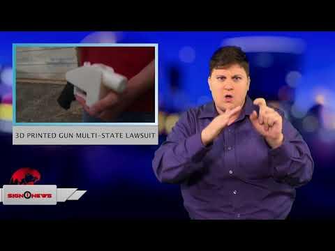 3D printed gun multi-state lawsuit (ASL - 7.31.18)
