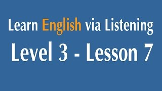 Learn English via Listening Level 3 - Lesson 7 - William Shakespeare