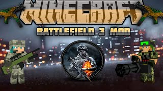Minecraft Battlefield mod 1.7.10 (3D Guns, Armors and more!)