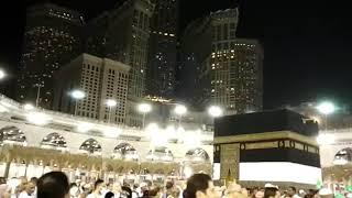 खाना-ए-काबा का दिलकश नज़ारा | Haj 2018 | Live From Khana-e-Kaba Saudi Arabia | By Arif Rizvi Al-Hind