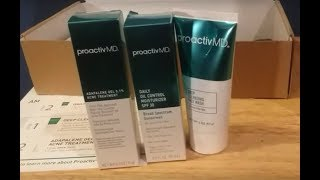 Proactiv MD: Does it work? Day 1