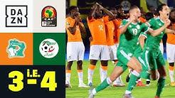 Algerien gewinnt Elfmeter-Krimi! Elfenbeinküste - Algerien 3:4 i.E. | Afrika Cup | DAZN Highlights