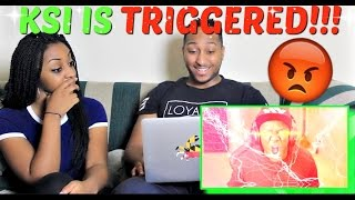 KSI 'TRIGGERED | Sinterklaas' REACTION!!!