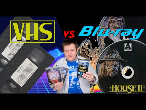 Download House 1 & 2 Arrow Blu-Rays vs. the Anchor Bay VHS release