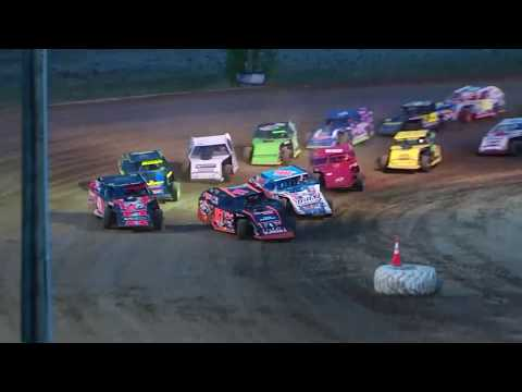DIRTcar Summer Nationals Modifieds I-96 Speedway July 12th, 2018 | HIGHLIGHTS