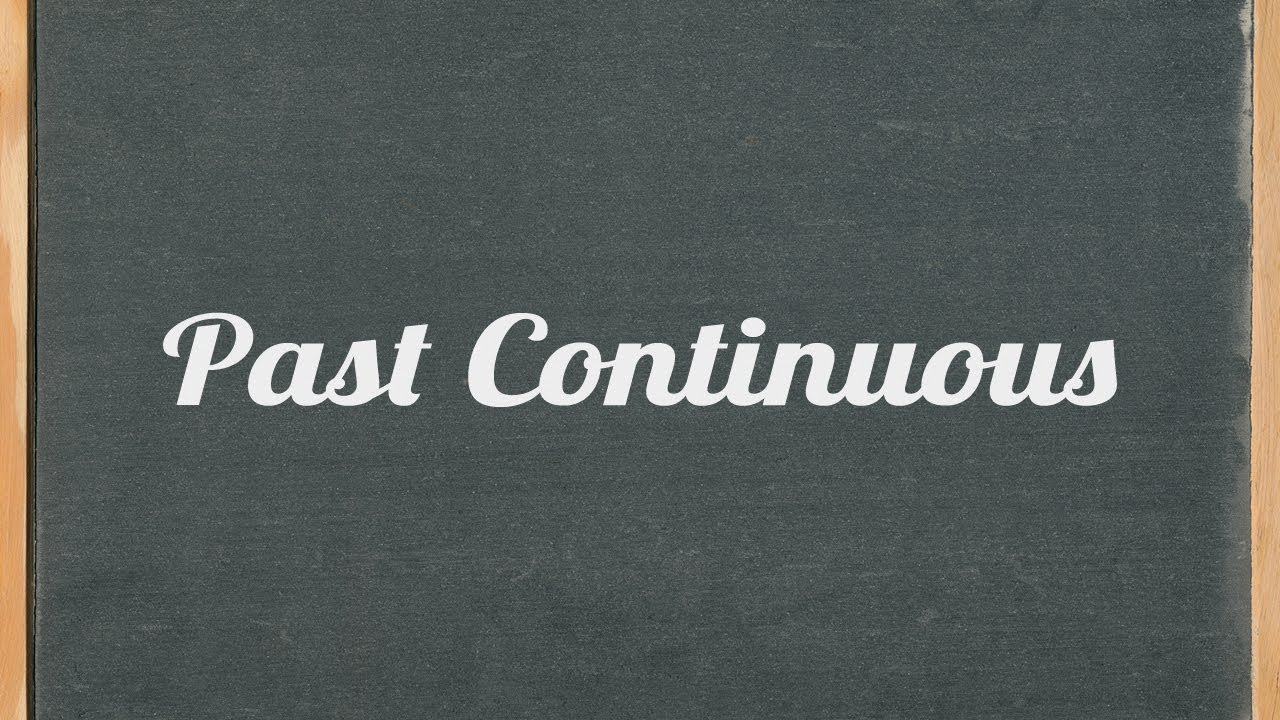Past Continuous Tense ( Past Progressive) - English grammar tutorial video  lesson
