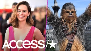 Emilia Clarke's Chewbacca Impression Is So Bad Even She Can't Stop Laughing About It | Access thumbnail