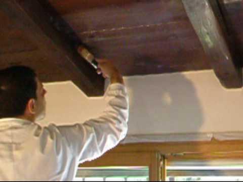 Come trattare il legno - Impregnante per legno - Travi a Vista - YouTube