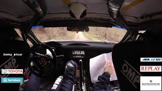 Rally Kumrovec 2020. Juraj Šebalj Camera Car! Toyota GT86 RWD