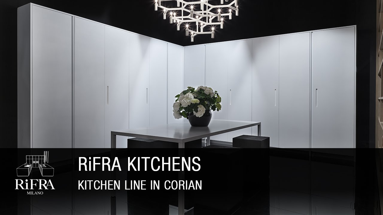 RiFRA - Kitchen LINE in Corian - YouTube
