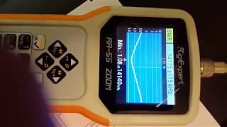 Розпакування аналізатора Rigexpert AA-55 Zoom