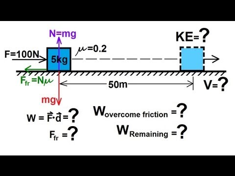 Physics - Mechanics: Work, Energy, and Power (1 of 20) Basics