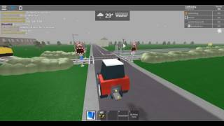 ROBLOX | Tractor P.O.V of Class 97 (97001) passing Carlton Lane 2 Level Crossing