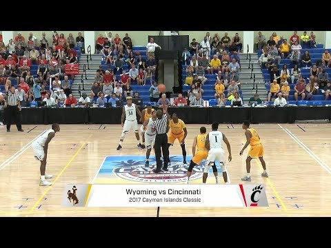 Men's Basketball Highlights: Cincinnati 78, Wyoming 53 (Courtesy FloHoops)
