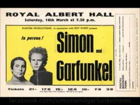 Simon & Garfunkel - Royal Albert Hall - 3/18/1967 (audio)