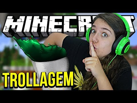 TROLLEI O SPOK PESADÃO! - Minecraft Infinito