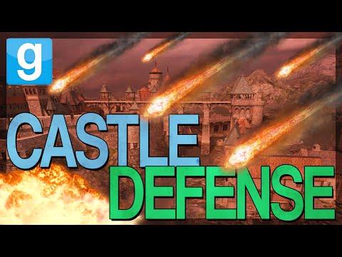 EPIC CASTLE DEFENSE!!! |  Gmod Custom Adventure | CASTLE SIEGE MAP