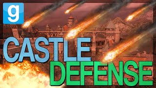 EPIC CASTLE DEFENSE!!! |  Gmod Custom Adventure | CASTLE SIEGE MAP