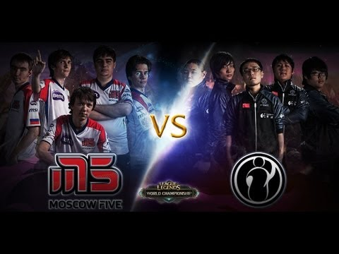 [S2WC QF] Moscow 5 vs Invictus Gaming