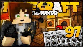FARM DE CARVÃO INFINITO E 100% AUTOMÁTICO! // Meu Mundo #97 // Minecraft