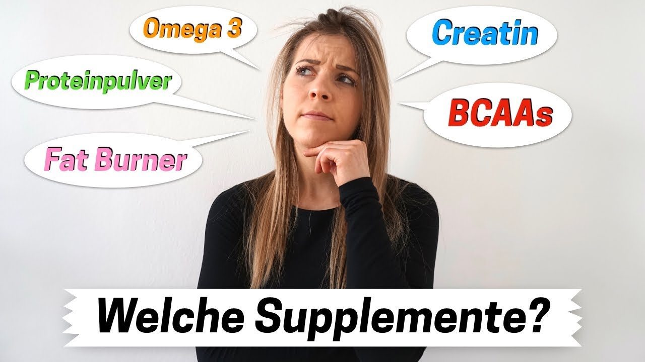 welche supplements braucht man zum abnehmen