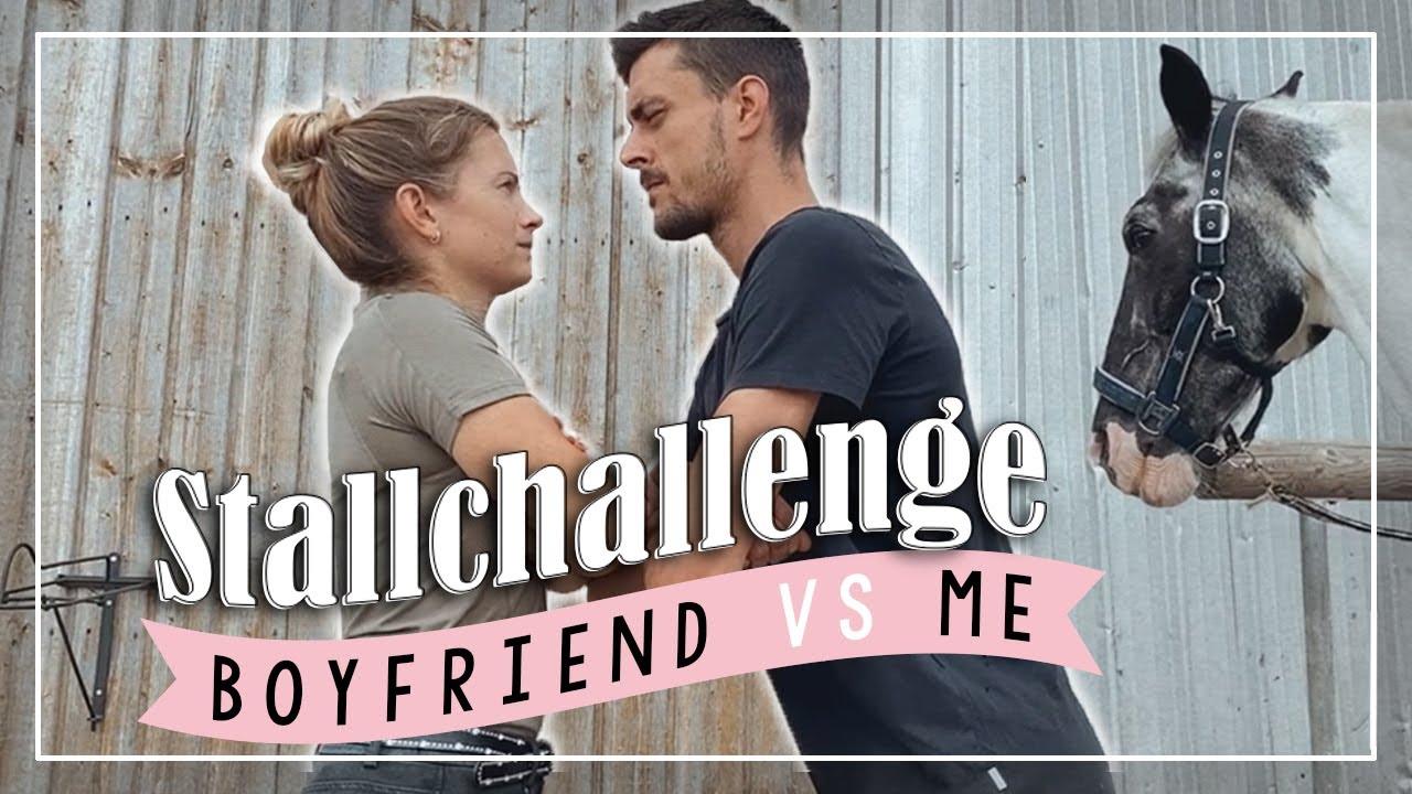 STALLCHALLENGE 💥 | Boyfriend vs. me // A&G HoreDiary