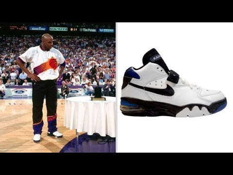 nike vi charles barkley old shoes