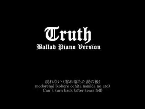 [Piano & Vocal Rendition] Arashi - Truth (ballad piano vers)