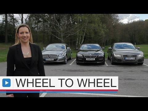 Audi A7 Sportback vs BMW 6 Series Gran Coupe vs Mercedes CLS  4 of 4