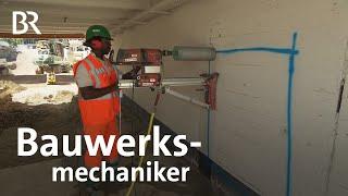 Bauwerksmechaniker (Abbruch und Betontrenntechnik) - ARD-alpha