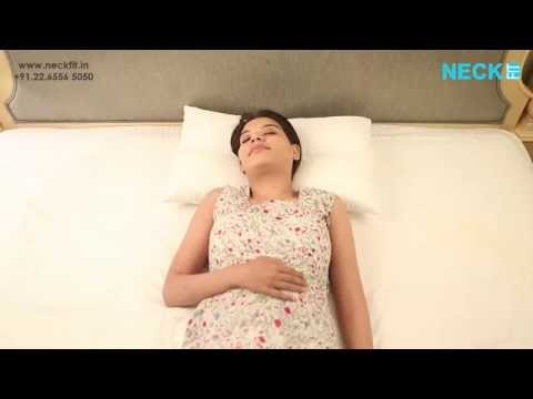 Best pillow for neck pain and back pain in India - Neckfit