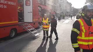 Risque sur un bâtiment à Pau : le quartier en cours d'évacuation