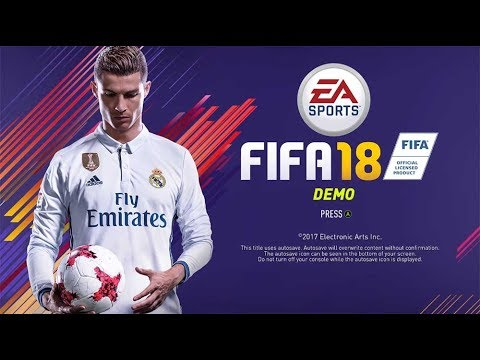 FIFA 18 DEMO - DECOUVERTE PARIS vs M.CITY | PS4