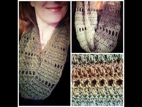 Archway Infinity Dress Scarf Free Crochet Pattern