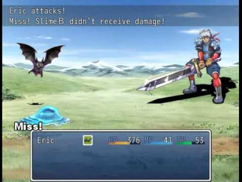 RPG Maker VX Ace Battle System 6 Solo Actor Battler