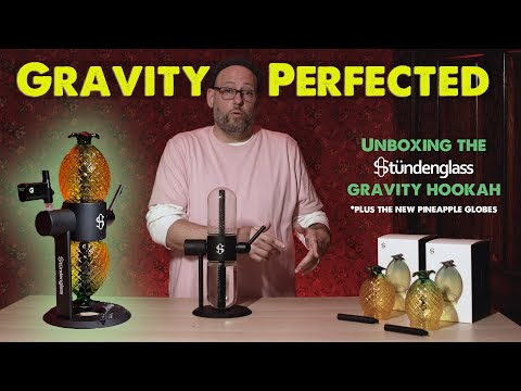UNBOXiNG the Stundenglass Gravity Hookah, PLUS the Pineapple Globes