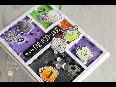 4cdd6471 MFT Fab-BOO-Lous Shaker Card | AmyR Halloween 2017 Video #3 | GIVEAWAY