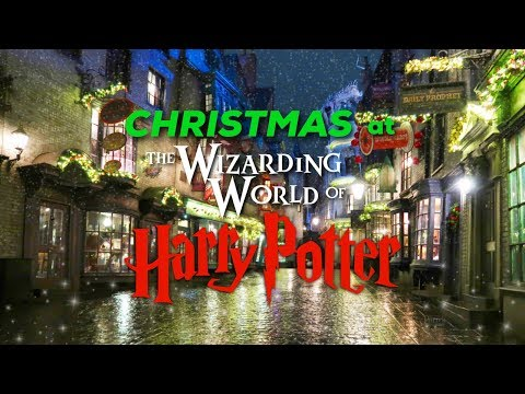 A Tour Of The Wizarding World Of Harry Potter During Christmas   Universal Studios