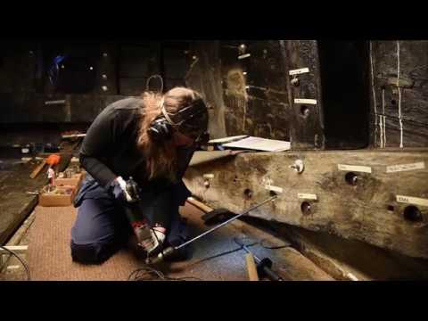 Så förlänger de livet för skeppet Vasa